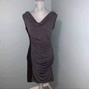Maggie London grey and black Dress size 10 petite